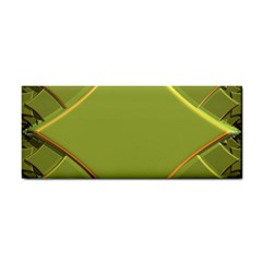 Fractal Green Diamonds Background Cosmetic Storage Cases