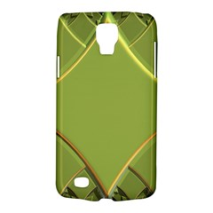 Fractal Green Diamonds Background Galaxy S4 Active