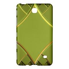 Fractal Green Diamonds Background Samsung Galaxy Tab 4 (8 ) Hardshell Case