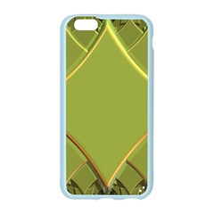 Fractal Green Diamonds Background Apple Seamless iPhone 6/6S Case (Color)