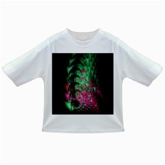 Pink And Green Shapes Make A Pretty Fractal Image Infant/toddler T Shirts