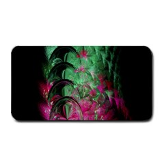 Pink And Green Shapes Make A Pretty Fractal Image Medium Bar Mats