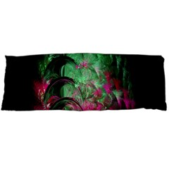 Pink And Green Shapes Make A Pretty Fractal Image Body Pillow Case Dakimakura (two Sides)