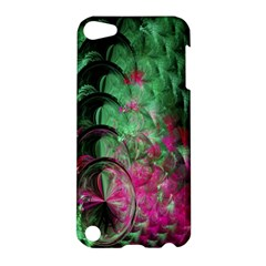 Pink And Green Shapes Make A Pretty Fractal Image Apple Ipod Touch 5 Hardshell Case