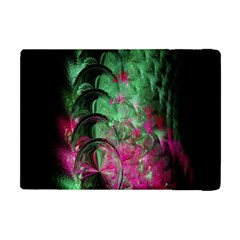 Pink And Green Shapes Make A Pretty Fractal Image Apple Ipad Mini Flip Case