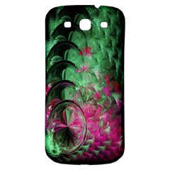 Pink And Green Shapes Make A Pretty Fractal Image Samsung Galaxy S3 S III Classic Hardshell Back Case