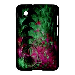 Pink And Green Shapes Make A Pretty Fractal Image Samsung Galaxy Tab 2 (7 ) P3100 Hardshell Case