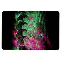 Pink And Green Shapes Make A Pretty Fractal Image Ipad Air Flip