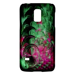 Pink And Green Shapes Make A Pretty Fractal Image Galaxy S5 Mini