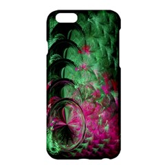 Pink And Green Shapes Make A Pretty Fractal Image Apple iPhone 6 Plus/6S Plus Hardshell Case