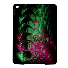 Pink And Green Shapes Make A Pretty Fractal Image iPad Air 2 Hardshell Cases
