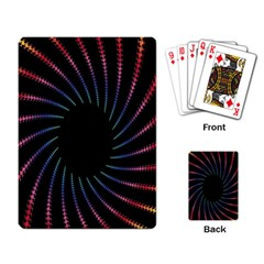 Fractal Black Hole Computer Digital Graphic Playing Card