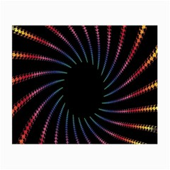 Fractal Black Hole Computer Digital Graphic Small Glasses Cloth (2 Side)