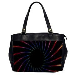 Fractal Black Hole Computer Digital Graphic Office Handbags