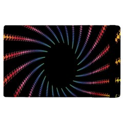 Fractal Black Hole Computer Digital Graphic Apple iPad 2 Flip Case