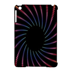Fractal Black Hole Computer Digital Graphic Apple iPad Mini Hardshell Case (Compatible with Smart Cover)