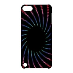 Fractal Black Hole Computer Digital Graphic Apple iPod Touch 5 Hardshell Case with Stand