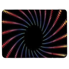 Fractal Black Hole Computer Digital Graphic Samsung Galaxy Tab 7  P1000 Flip Case