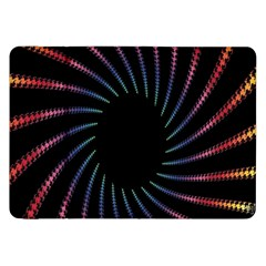 Fractal Black Hole Computer Digital Graphic Samsung Galaxy Tab 8.9  P7300 Flip Case