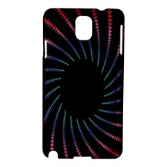 Fractal Black Hole Computer Digital Graphic Samsung Galaxy Note 3 N9005 Hardshell Case