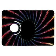 Fractal Black Hole Computer Digital Graphic Kindle Fire HDX Flip 360 Case