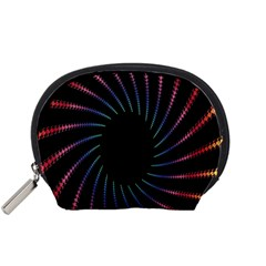 Fractal Black Hole Computer Digital Graphic Accessory Pouches (Small)