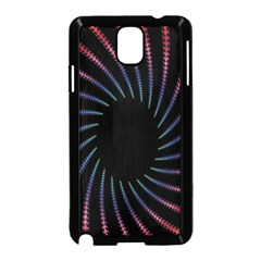 Fractal Black Hole Computer Digital Graphic Samsung Galaxy Note 3 Neo Hardshell Case (Black)