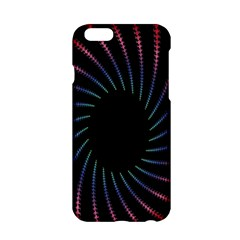 Fractal Black Hole Computer Digital Graphic Apple Iphone 6/6s Hardshell Case