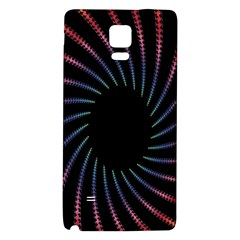 Fractal Black Hole Computer Digital Graphic Galaxy Note 4 Back Case