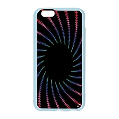 Fractal Black Hole Computer Digital Graphic Apple Seamless iPhone 6/6S Case (Color)