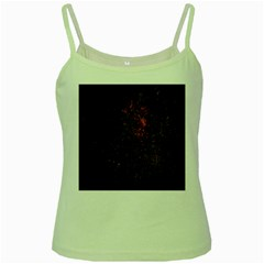 July 4th Fireworks Party Green Spaghetti Tank