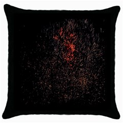 July 4th Fireworks Party Throw Pillow Case (Black)