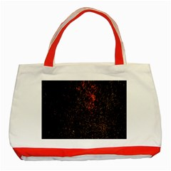 July 4th Fireworks Party Classic Tote Bag (red)