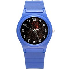 July 4th Fireworks Party Round Plastic Sport Watch (s)