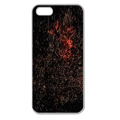 July 4th Fireworks Party Apple Seamless iPhone 5 Case (Clear)
