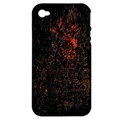 July 4th Fireworks Party Apple iPhone 4/4S Hardshell Case (PC+Silicone)