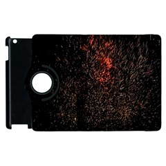 July 4th Fireworks Party Apple iPad 3/4 Flip 360 Case
