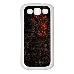 July 4th Fireworks Party Samsung Galaxy S3 Back Case (White)