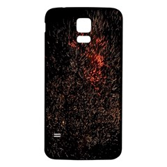 July 4th Fireworks Party Samsung Galaxy S5 Back Case (White)