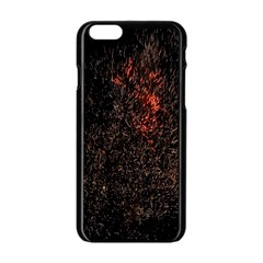 July 4th Fireworks Party Apple Iphone 6/6s Black Enamel Case