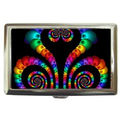 Fractal Drawing Of Phoenix Spirals Cigarette Money Cases