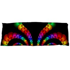 Fractal Drawing Of Phoenix Spirals Body Pillow Case (Dakimakura)