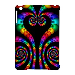 Fractal Drawing Of Phoenix Spirals Apple iPad Mini Hardshell Case (Compatible with Smart Cover)