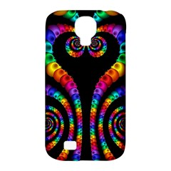 Fractal Drawing Of Phoenix Spirals Samsung Galaxy S4 Classic Hardshell Case (PC+Silicone)