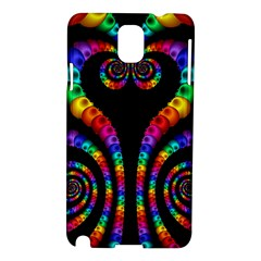Fractal Drawing Of Phoenix Spirals Samsung Galaxy Note 3 N9005 Hardshell Case