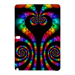 Fractal Drawing Of Phoenix Spirals Samsung Galaxy Tab Pro 10 1 Hardshell Case