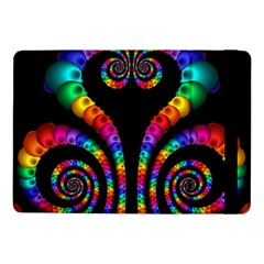 Fractal Drawing Of Phoenix Spirals Samsung Galaxy Tab Pro 10 1  Flip Case