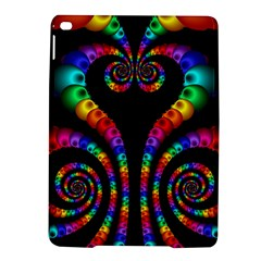 Fractal Drawing Of Phoenix Spirals iPad Air 2 Hardshell Cases