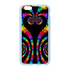 Fractal Drawing Of Phoenix Spirals Apple Seamless iPhone 6/6S Case (Color)
