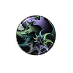 Fractal Image With Sharp Wheels Hat Clip Ball Marker